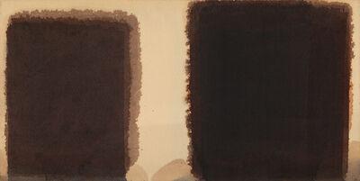 Yun Hyong-keun, 'Burnt Umber & Ultramarine', 1981-1985