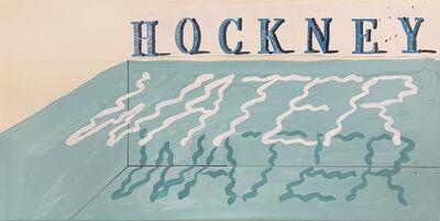 David Hockney, 'Water', 1989