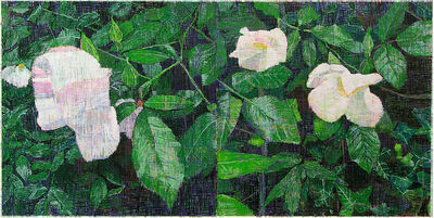 Jennifer Losch Bartlett, 'White Roses', 2013