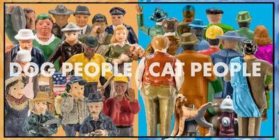 Steven Chayt, 'Dog People Cat People', 2018
