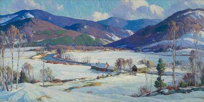 Aldro Thompson Hibbard, 'The West River Valley, near Bondville, Vermont', ca. 1939