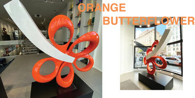 Amel Chamandy, 'Orange Butterflower', 2019