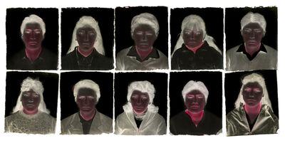 Milagros de la Torre, 'Under the black sun. Polyptych', 1991-1993