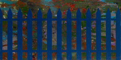 Per Kirkeby, 'Stakit / Fence', 1965-66