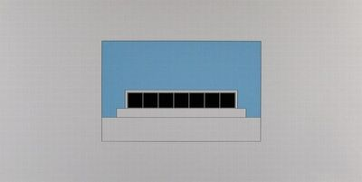 Gerhard Merz, 'Composition from: Hamburg 1992', 1992