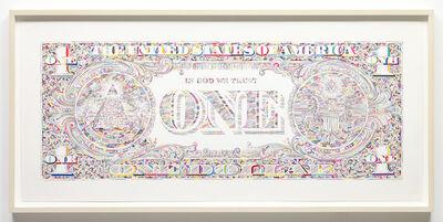 Tom Friedman, 'Untitled (dollar bill back)', 2011