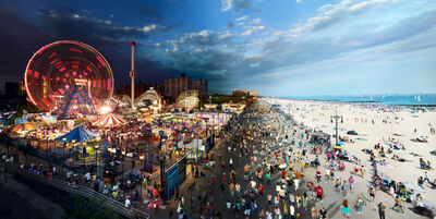 Stephen Wilkes, 'Coney Island, Brooklyn, New York', 2011
