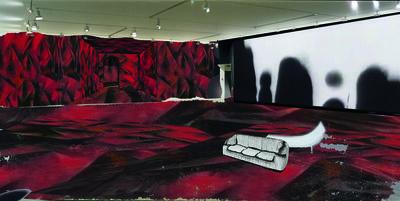 "Guillermo Kuitca, 'Preparatory study for the exhibition ""Les Habitants""', 2014"