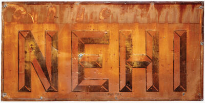 Walker Evans, 'NEHI, Sign from Advance', 1971