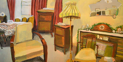 Sue Michael, 'The Lounge Room with Year Around Tinsel, Auburn, South Australia', 2018
