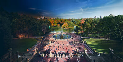 Stephen Wilkes, 'Bethesda Fountain, Central Park, Day to Night', 2012