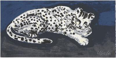 Yutaka Sone, 'Sleepy Snow Leopard', 2016