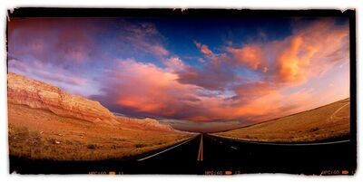 David Glick, 'Road Sunset #3', 2002