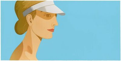 Alex Katz, 'White Visor', 2003