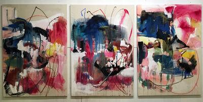 Vicky Barranguet, 'Pounding Heart (triptych)', 2016