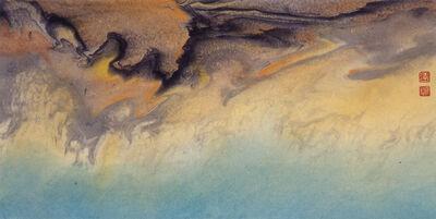 Liu Kuo-sung 刘国松, '黃龍-九寨溝系列24', 2001