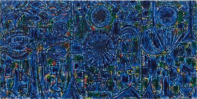 Richard Pousette-Dart, 'Blue Enstrata', 1984