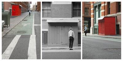 Barbara Probst, 'Exposure #150: N.Y.C., Canal & Mercer Streets, 04.18.20,2:19 p.m.', 2020