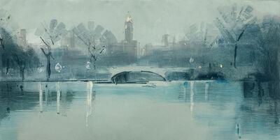 Lisa Breslow, 'Bow Bridge, Twilight', 2020