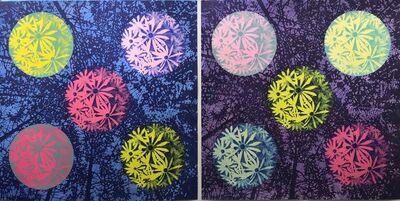 Eve Stockton, 'Woodland Cluster - var. 1 & var. 2 (diptych)', 2020
