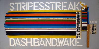 Dennis Burton, 'Stripe Streak', 1977