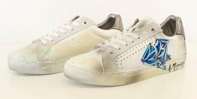 Zadig and Voltaire X Alexander Mijares, 'ZV1747 Skulls, sneakers'