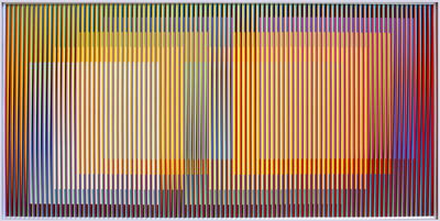 Carlos Cruz-Diez, 'Physichromie Panam 133', 2013