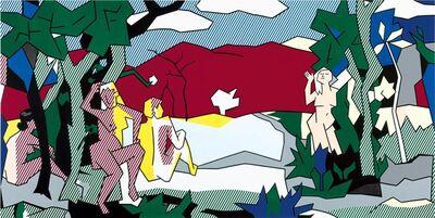 Roy Lichtenstein, 'The White Tree', 1980