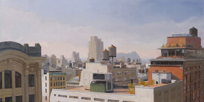 Kenny Harris, 'Water Towers over 23rd Street ', 2014
