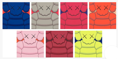 KAWS, 'What a Party (Set of 7)', 2020
