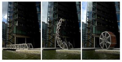 Thomas Heatherwick, 'Rolling Bridge, London', 2002-2004