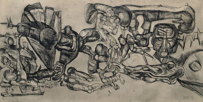 Ernst Neizvestny, 'Untitled composition', 1971
