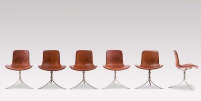 Poul Kjærholm, 'Set of six chairs ', 1960