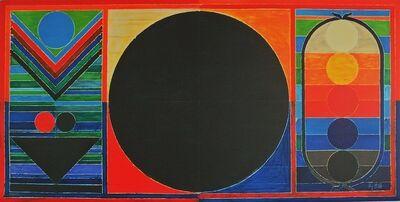 S. H. Raza, 'Tree, bindu and five elements, 2008', 2008