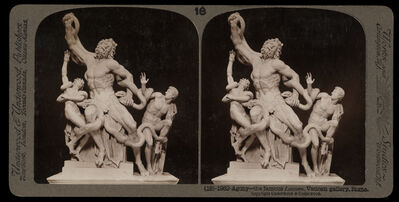 Bert Underwood, 'Agony, the famous Lacoon, Vatican gallery, Rome', 1900