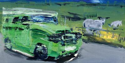 Rainer Fetting, 'Hummer und Schafe (Hummer and Sheep)', 2013