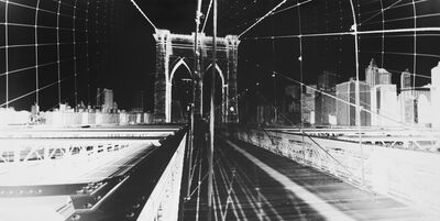 Vera Lutter, 'Brooklyn Bridge: June 10, 2015', 2015