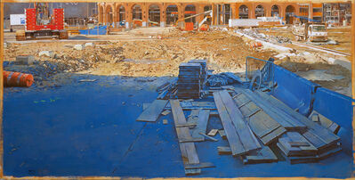 Joseph McNamara, 'Citi Field Construction', 2020