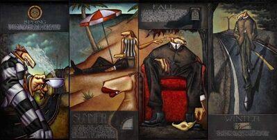Markus Pierson, 'Seasons Mural', 2005