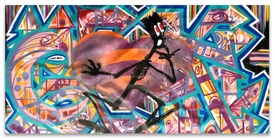 "QUIK, 'Wildstyle with Heart & Negro""', 2002"