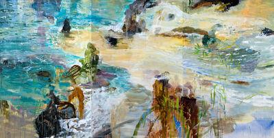 Michael Mazur, 'Shoreline Rain (Triptych)', 2005-2008