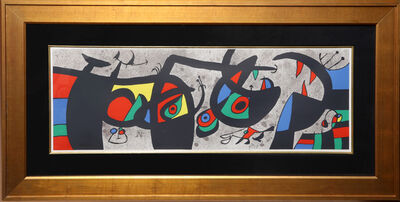 Joan Miró, 'Le Lezard aux Plumes d'Or (ML 793)', 1971