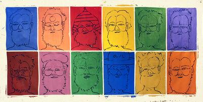 Isaiah Zagar, 'Twelve Isaiahs', ca. 1990