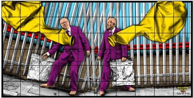 Gilbert and George, 'BALLOON TALK', 2020