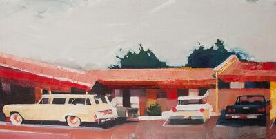 Ruth Shively, 'Howard Johnson's Parking Lot', 2016