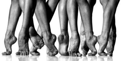 "Howard Schatz, 'Dance Study:  Paloma Herrera ""Feet""', 1997"