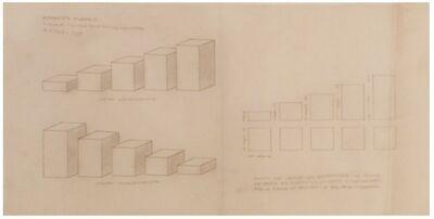 Norberto Puzzolo, 'Cinco prismas escalonados'
