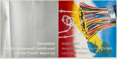 James Rosenquist, 'Poster for Leo Castelli Gallery', 1969