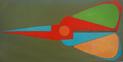 Mao Xuhui 毛旭辉, 'Scissors in Spring, Horizontal', 2008