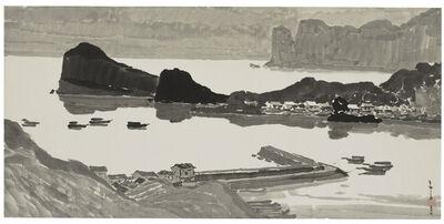 Ma Paisui 馬白水, 'Moon Night of Yehliu', 1966